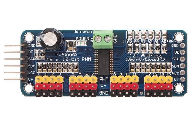 Controlador PWM - PCA9685