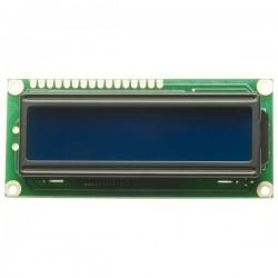 Pantalla LCD de 2 x 16 caracteres azul
