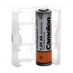 Adaptador de baterias AA/R6 a C/RC14