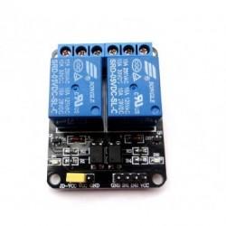 Módulo 2 canales Relé de potencia 5V