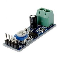 Módulo amplificador de audio con LM386