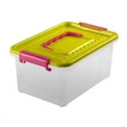 Caja plastico 3,5L con tapa