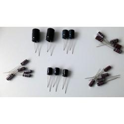 Kit de condensadores electrolíticos