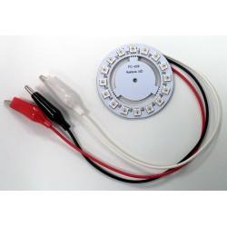 Anillo circular LED RGB 16 elementos