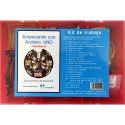Kit - Empezando con Arduino UNO - Volumen 2