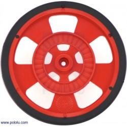 Rueda de 68 x 8mm - Servo - Color rojo