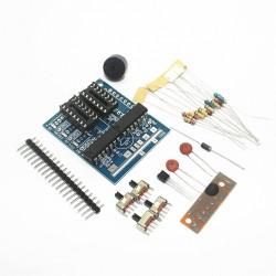 Kit para soldar - Caja de música con 16 sonidos