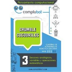 Crumble  cocodrilos  3 - Sensores digitales y funciones lógicas