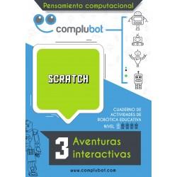 Scratch – 3 Aventuras interactivas