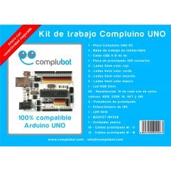 Kit - Empezando con Compluino UNO - Volumen 1