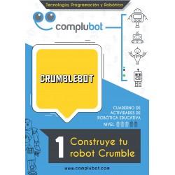 Crumblebot – 1 Construye tu robot Crumble