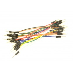 10 cables prototipado M - M 115mm