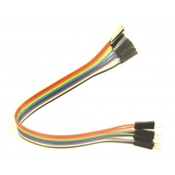 10 cables prototipado M - H 220mm